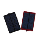 Battery : Li-ion 1000MAH Solar panel : 5.5V 100MA Qty/color box : 1 pcs Size : 60*90*14mm Color box : 12.5*9.5*4.6 cm Qty/out carton : 60Set Out carton : 38*47*20cm N/G.W : 10kg/11.5kg,it costs 14 hours to charge fullly of the battery.output current:400MA,the adapters model:Nokia 6101/8210/N72/N707, Motorola V3/V66, Sony Ericsson T28, Samsung A288,Output USB Charging Cable-1PC.